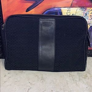 Coach makeup clutch
